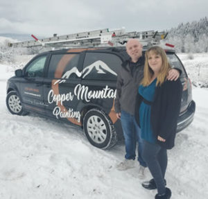 Owners Of Copper Mountain Painting